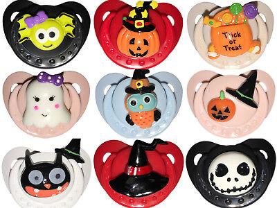 Adult Baby Diaper Lover D D L G Cute Gem Halloween Adult Pacifier A B D L ](Halloween Muffin)