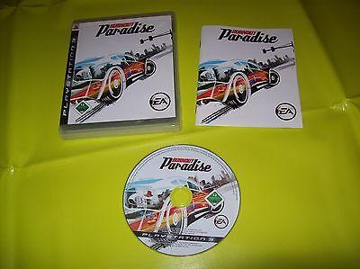 Burnout: Paradise (Sony PlayStation 3, 2008) Gebraucht
