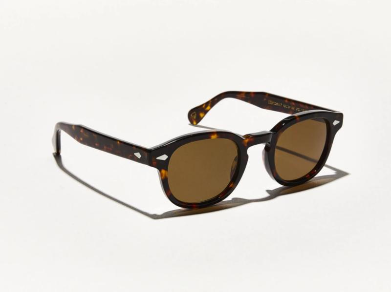 MOSCOT Lemtosh POLARISED Sunglasses. Tortoise. Size 49-24-145. New. Warranty. CB