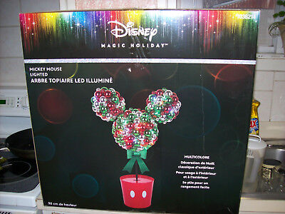 Disney Magic Holiday Mickey Mouse Multi-Color Christmas LED -