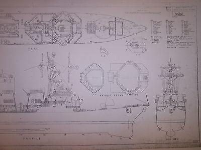 USS ARLEIGH BURKE DDG 51  ship plans