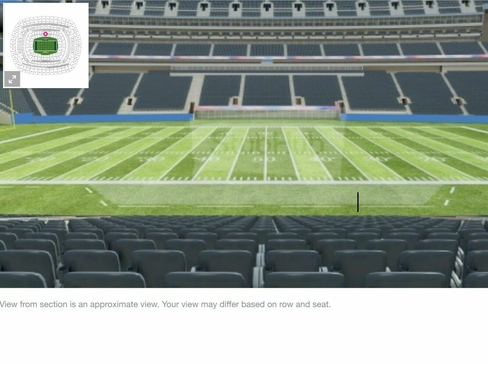 2 New York Jets PSL's For Sale Coaches Club Sec 113 Row 16 Season Ticket Rights.