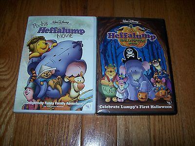 Walt Disney Pooh's Heffalump & Heffalump Halloween Movie on DVD. Winnie the Pooh