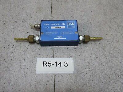 Hks - Gm 30l 10b Gasdurchfluss Messsensor 0...30 Litermin. Ar. Signal 0...5v