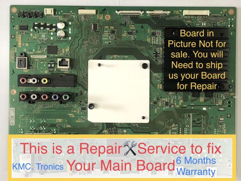 Repair🛠Service For Sony XBR-55X810C Main Board A2072598B, 1-894-595-12