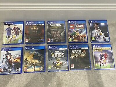 playstation 4 - 10 Games
