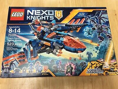 LEGO 70351 Nexo Knights Clay's Falcon Fighter Blaster. Grimroc. New & sealed.
