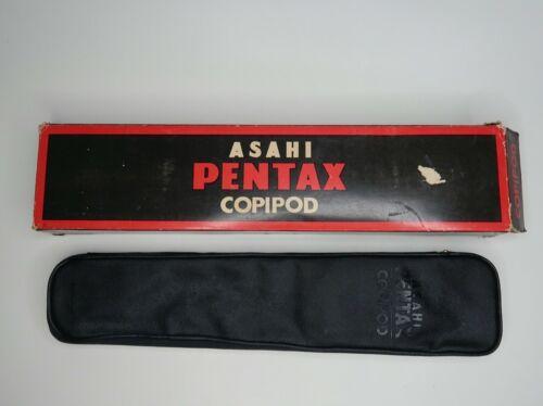 Asahi Pentax Copipod Portable 35mm Camera Copy Stand W/ Case Honeywell Tripod