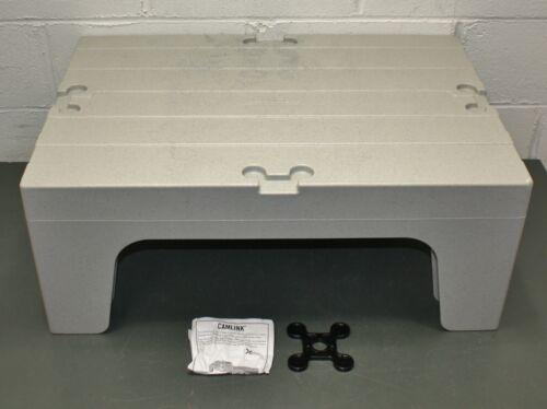 "Cambro Dunnage Rack EADRS30480, 30"" x 21"" x 12"" H, 1500 Lb, Gray, NSF, Solid"