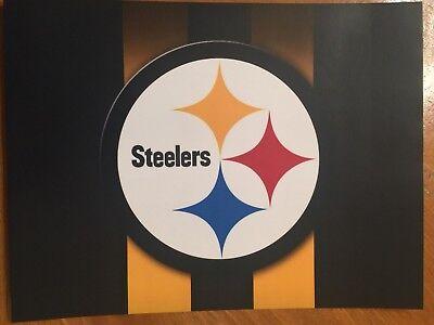 Tin Sign Vintage Pittsburgh Steelers NFL 3