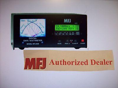 MFJ 828 -New  Digital SWR/Wattmeter & Frequency Counter 1.8-54 MHz 1500 Watts