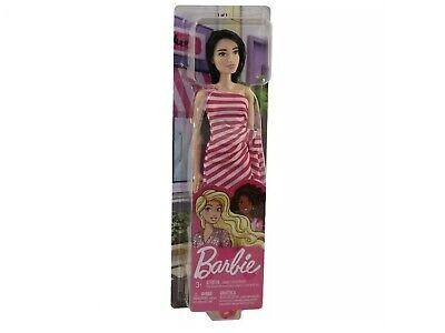 Mattel - Barbie Glitz Doll - STRIPED DRESS (PINK)- New