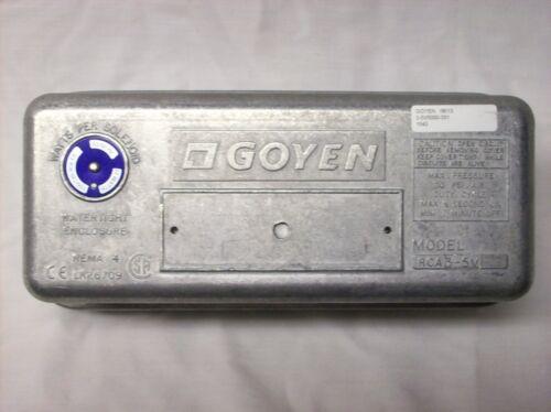 Goyen valve enclosure 3-5V5000-331