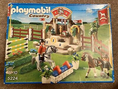 Playmobil Country 5224 Pony Gymkhana Play Set Age 5-10