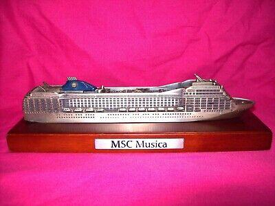 modellino nave MSC MUSICA