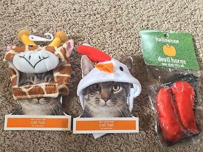 Cat Halloween Costumes Target (NEW CAT HATS Giraffe, Chicken, Devil Horns Costumes Halloween)