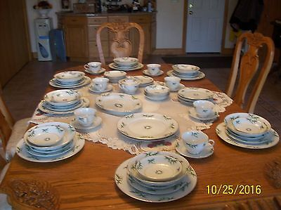 Harmony House Vintage Fine China 71 Pieces 1954 Mandarin Pattern