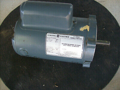 General Electric C Face 34hp Motor 56c Frame 1725
