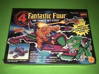 Fantastic Four The Thing's Sky Cycle Toy Biz 1995! NEW SEALED!