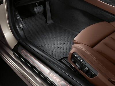 BMW 6 SERIES GRAND COUPE  OEM ALL WEATHER MATS  SET 2012 THROUGH 2019