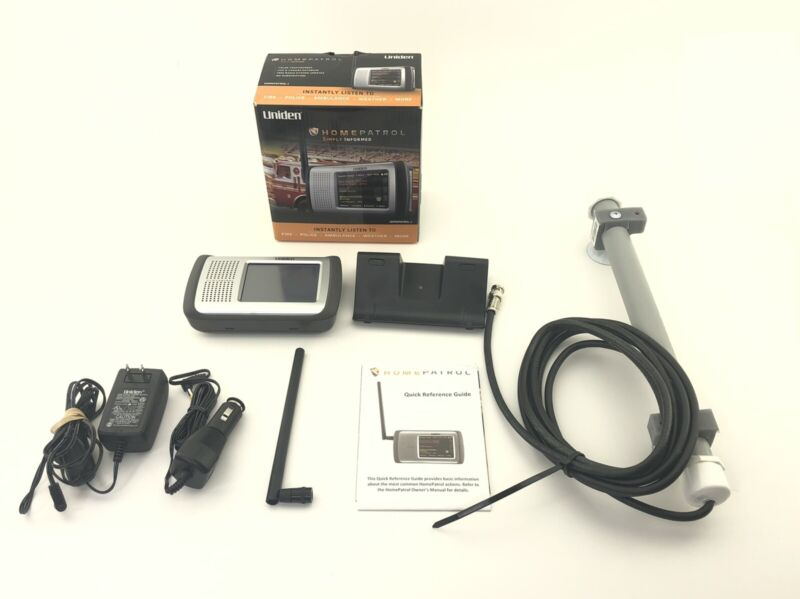 *PRE-OWNED* Uniden HomePatrol-1 Touchscreen Scanner