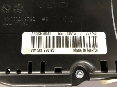Used Volkswagen Instrument Clusters for Sale - Page 28