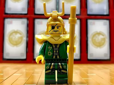 Authentic New LEGO Ninjago Sons Of Garmadon Hutchins 70643 - MiniFig Only!