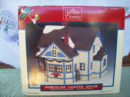 1998 Lemax  Harvest Crossing   Lighted House