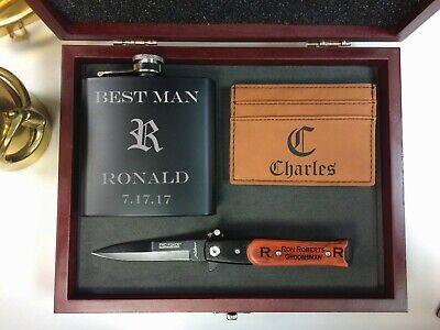 Groomsmen Gift, Best Man Gift, Groomsman Gift box, Groomsmen Gift Set,