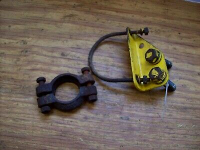 Farmall Cub International Harvester Underslung Exhaust Mounting And Clamp