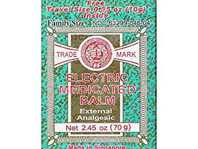 Electric Medicated Balm External Analgesic 2.45oz