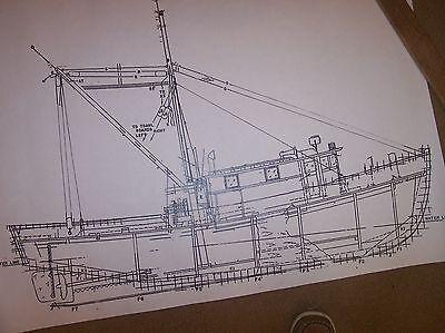 shrimp boat model plan large size