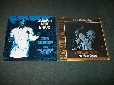 Job lot 7 blues / soul LPs Sam Cooke, Nina Simone, Howlin' Wolf, Big Joe Turner