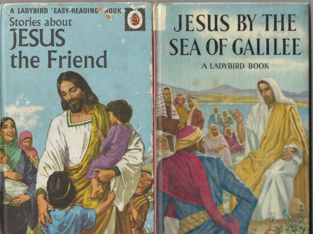 LADYBIRD 2 x Stories about Jesus JESUS THE FRIEND & JESUS BY THE SEA OF GALILEE
