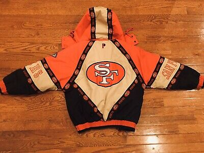 Vintage San Francisco 49ers Pro Player Youth Jacket By Daniel Young Large.