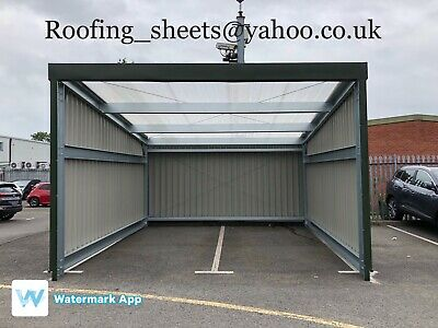 steel framed building Steel shed, Building, Storage unit,carport,Car wash,Leanto, used for sale  Shipping to South Africa
