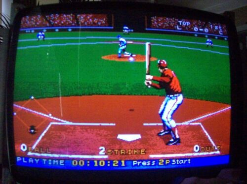 BOTTOM OF THE NINTH BASEBALL  JAMMA BOARD WORKS PERFECT!