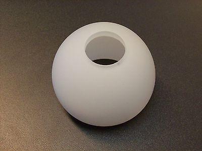 Glas Lampenschirm Ersatzglas halb Kugel mattglas weiß E14 Lochmaß Fassung ø 30mm