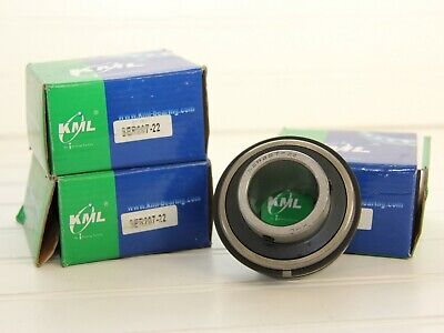 Lot Of 3 Kml Ser207-20 Bearings With Snap Rings New In Boxes