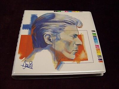 "DAVID BOWIE ""FASHIONS"" 10 x 7"" 45 SET PICTURE DISC COMPILATION RCA UK 1982 ROCK"