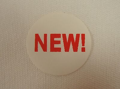 100 Self-adhesive New 34 Labels Stickers Retail Store Supplies