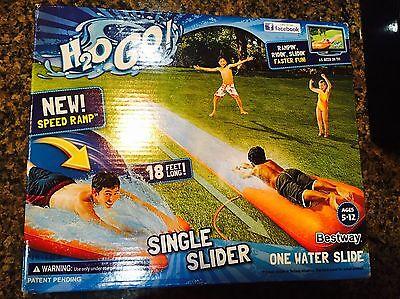 Bestway H2OGO Single Lane 16' Water Slide New in (Single Lane Slide)