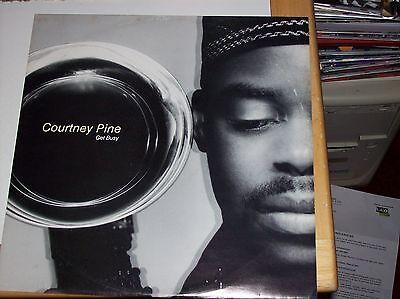 "COURTNEY PINE - GET BUSY, 1992 (ISLAND 3 TRACK 12"" SINGLE)"