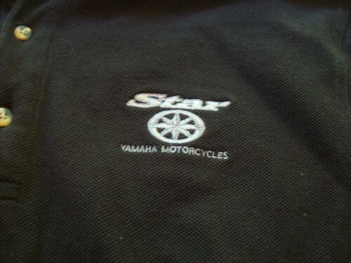 Star Yamaha Motorcycles 1/4 Button Sweater TRI MOUNTAIN . Appears New.