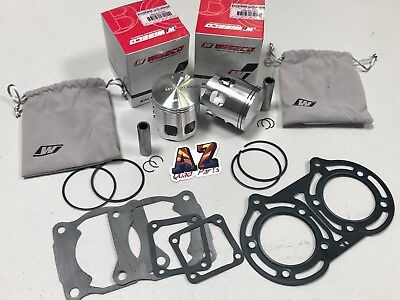 Yamaha Banshee YFZ 350 66mm +2mm Wiseco Pro Lite Pistons Piston Set Gaskets Kit, used for sale  Shipping to Canada