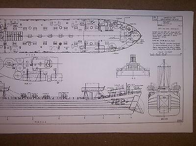 LST 722 DODGE COUNTY ship model  plans