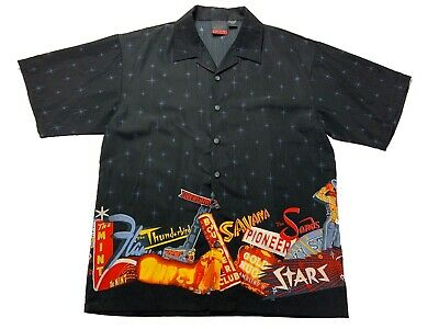 Vegas Theme Parties (C -Two Mens Size XL Button Up Short Sleeve Las Vegas Themed Gambling Party)