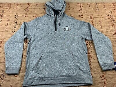 Champion Double Dry Half Zip Jacket Size Large With Tags Champion Double Dry Hooded Jacket