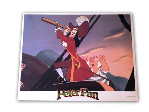 """Peter Pan"" Original 11x14 Authentic Lobby Card Poster Photo 1990S Disney Rare!"