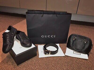 Gucci Bag, Shoes And Belt Set Shoes Belt Bag